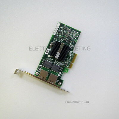 HP NC360T Dual Port Server Adapter Gigabit Ethernet Full Profile PCI-E