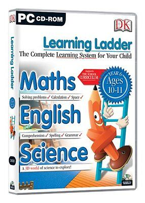 Learning Ladder Year 6 (PC-CD) BRAND NEW SEALED Year 6 AGES 10-11