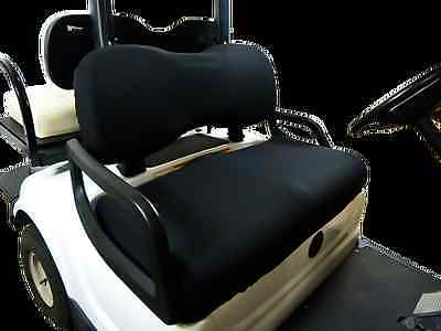 Golf Cart Seat Slip-on Seat Cover Black -  Made in USA