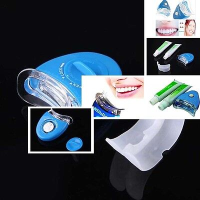 Tooth Whitening Kit Home Teeth Cleaning Tray Dental Treatment kit 2pcs Set