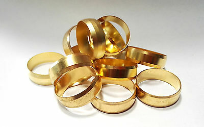 """Quality 3/4"""" Imperial Brass Compression Olives"""