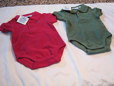 Janie & Jack Two Infants Tee Shirts, New With Tags. Size: 0-3 Months, Must See