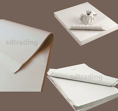 "17"" x 20"" White News Wrapping Paper Newspaper offcuts for Packing Large Sheets"
