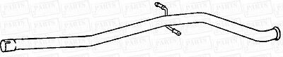 Peugeot 406hdi 2.0td 1 8V 90bhp Est Euro2 98-00 Centre Exhaust Pipe Replacement