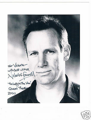 Nicholas Farrell Film and Theatre Actor Hand signed Photograph 10 x 8