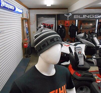 New! Polaris Stripes Beanie / Gray / Os / 2867748