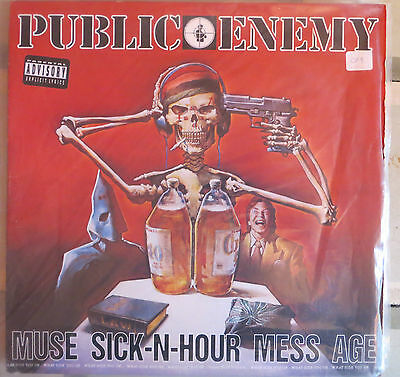 Public Enemy: Muse Sick-N-Hour Mess Age (Doble L.p.) U.s.a. Def Jam 1994