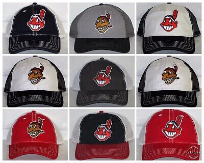 Cleveland Indians Retro Snapback Cap ⚾️Hat ⚾️MLB Patch Logo ⚾️18 Styles ⚾️New