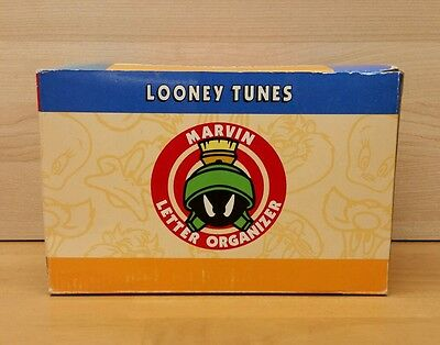 Marvin the Martian Organizer CDs DVDs Letters Mail Looney Tunes Warner Bros 1995