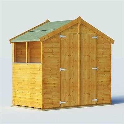 Used garden shed 5 x 7 picclick uk for Durable sheds