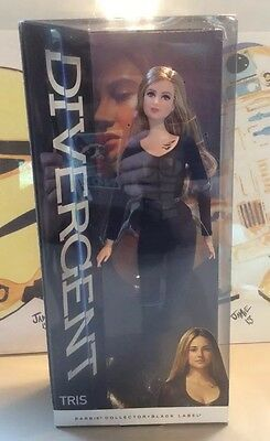 2014 Divergent Tris Barbie Doll Barbie Collector Black Label Nisb