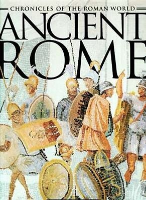 HUGE Chronicles of Ancient Rome Lavish Illustrations Art Architecture Maps Huns