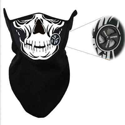 Ghost Scarf Skull Neoprene Face Mask Multi Use Neck Warmer COD