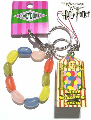 """Free shipping!! Harry Potter """"Every Flavour Beans"""" Key Ring Chain with gift bag."""