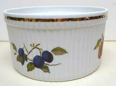 Royal Worcester-Evesham-Flameproof Porcelain-Oven To Table  Dish-England