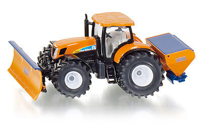 Tractor with Snow Plough and Shaker, Siku Super 1:50, Art.2940, Novelty