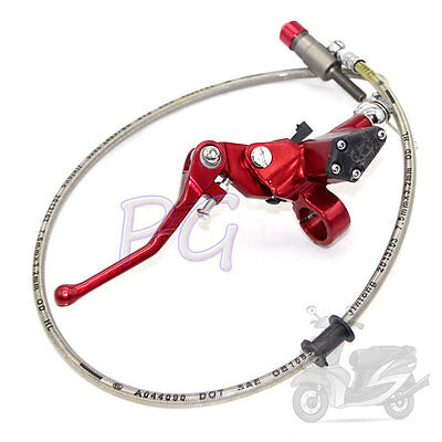 Hydraulic Clutch Lever Master Cylinder Pit Bike Red