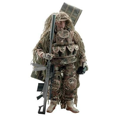 1/6 Scale US Army Soldier All-terrain Sniper Action Figure Toy 12 inch