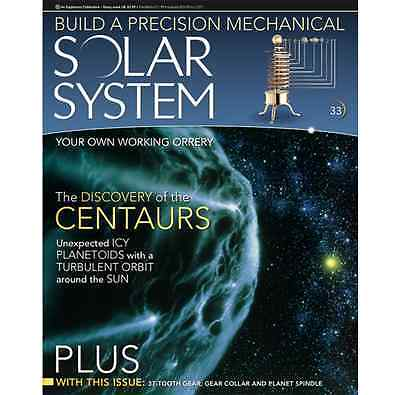 Eaglemoss Build A Model Solar System - Issue 33 -37 Tooth Gear Gear Collar USED