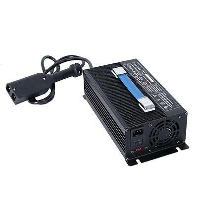 Silver Car Automatic Golf Cart Battery Charger 36V 18A 100V-120V Powerwise Style