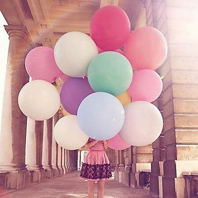 36 Inch 90cm Large Giant Oval Latex Big Balloon Wedding Party Decoration