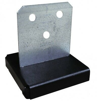 Simpson Strong-Tie Concealed Post Base Galvanised Steel CPT44Z / CPT66Z / CPT88Z
