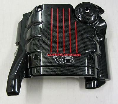 Holden Commodore Supercharged V6 Custom Carbon Fibre Engine Cover VS VT VX VY WH