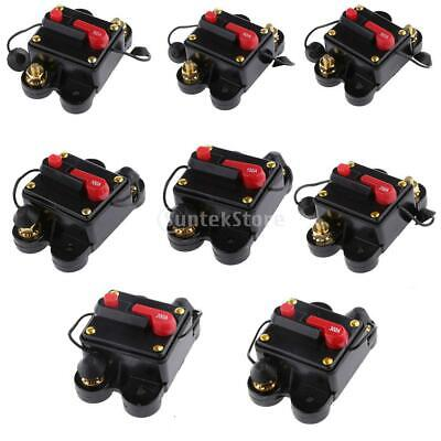 20A-300 Amp Manual Reset Circuit Breaker 12v/24v Car Auto Boat Audio Stereo Fuse