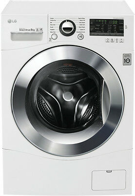 NEW LG WD1408NPW 8kg Front Load Washer