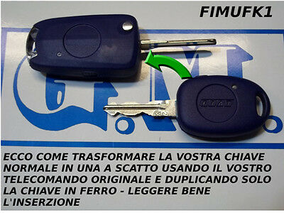 Case Key Transformed Snap Compatible Fiat Multipla As Photos