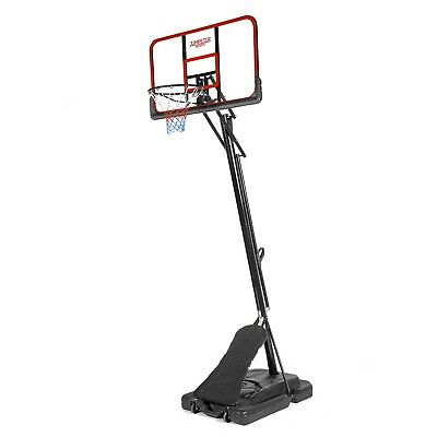 Full Sized Professional Basketball Stand Hoop Set with Rebound Board