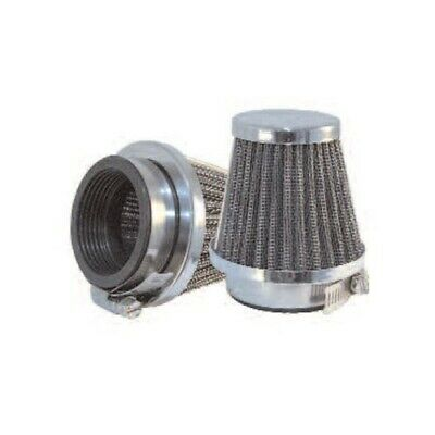 CHROME EMGO MOTORCYCLE AIR FILTER POD 48mm