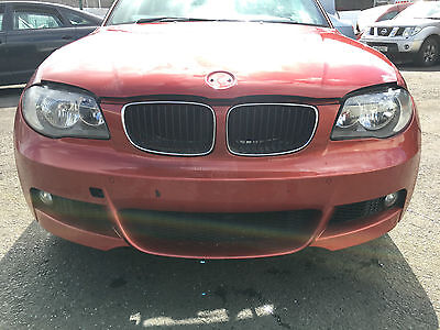 2008 Bmw 1 Series E82 Coupe M Sport Front End Set Bumper Lights Wings Bonnet