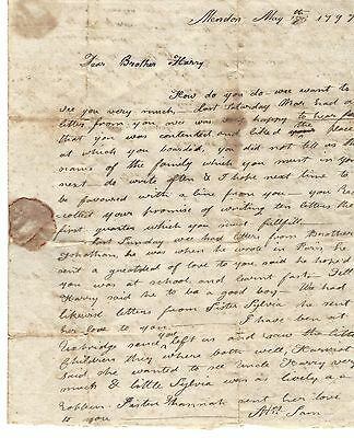 Treaty of Ghent Diplomat, Appointed by Madison, Mentioned by Sister to Brother