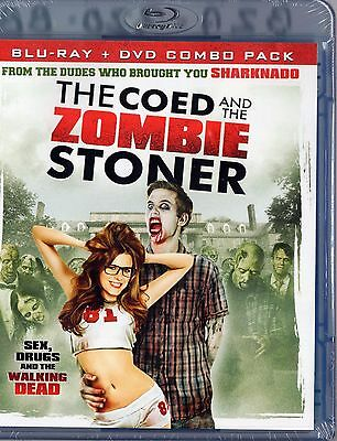The Coed and the Zombie Stoner (Blu-ray/DVD 2 discs)   BRAND NEW