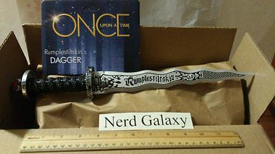 Once Upon A Time Rumplestiltskin Costume Dagger Storybrooke Dark One Toy Rumple