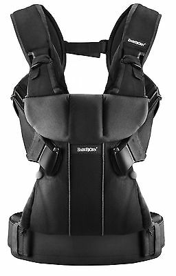 BABYBJORN One, Baby Carrier - Black, Cotton Mix... FREE SHIPPING