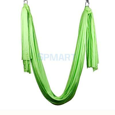 Green Inversion Therapy Anti-Gravity Aerial Yoga Swing Hanging Hammock Tool