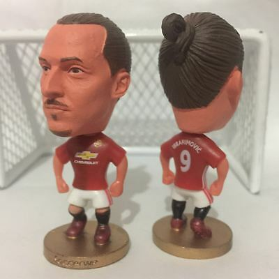 Statuina doll ZLATAN IBRAHIMOVIC 9 MANCHESTER UNITED 1617 football action figure