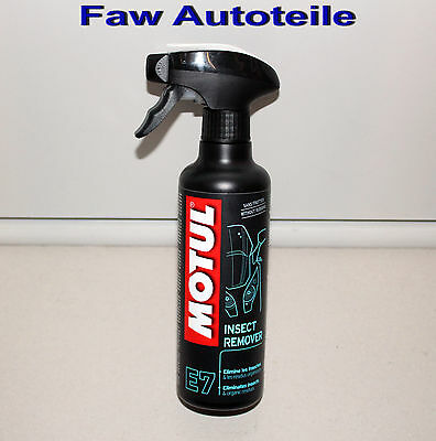 MOTUL INSECT REMOVER Insect Remover Motorcycle E7 400ml Pump Bottle