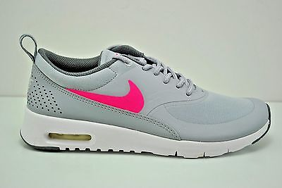núcleo Depresión sugerir  NIKE AIR MAX Thea (GS) Running Shoes Grey Pink White Various Sizes 814444  002 - $34.99 | PicClick
