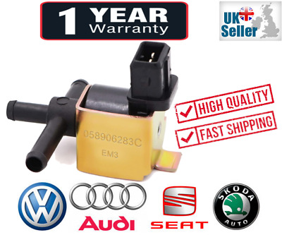 NEW Replacement N75 Boost Valve for Audi Skoda Seat VW 058906283C