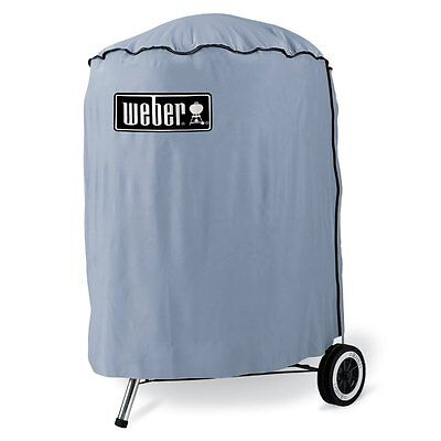 Weber 57cm Standard Vinyl Cover Protect BBQ Heavy Duty All Year Round