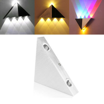 Modern 3W Wall Light Up Down LED Sconce Light Lamp Indoor Decor Multicolor