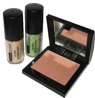 Sue Devitt Eye Glides Rollerball Eye Shadows in Kouri, Nampala & Blush In Tralee