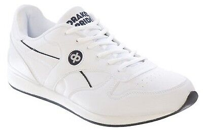 Drakes Pride Mens (Unisex) White Solar Bowls Shoes