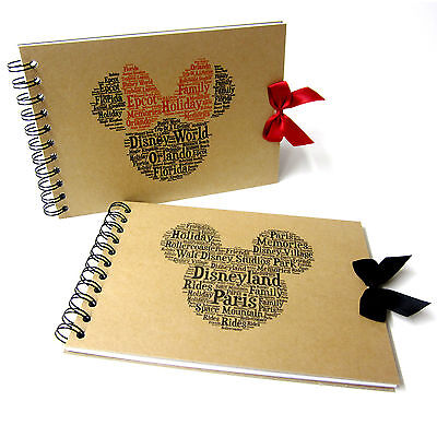 Disney Autograph Book, Mickey or Minnie Mouse, Disney Land or Disneyworld