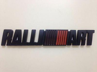 RALLIART Emblem Badge 3D Metal Black Decal Sticker For Mitsubishi Lancer EVO