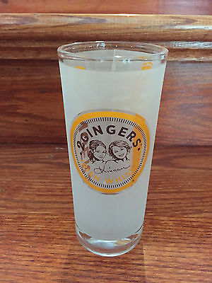 Brand New 2 Gingers Irish Whiskey Frosted Hi Ball Drink Glass