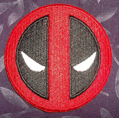 Deadpool Embroidered Patch Marvel Comics Sew/ Iron On